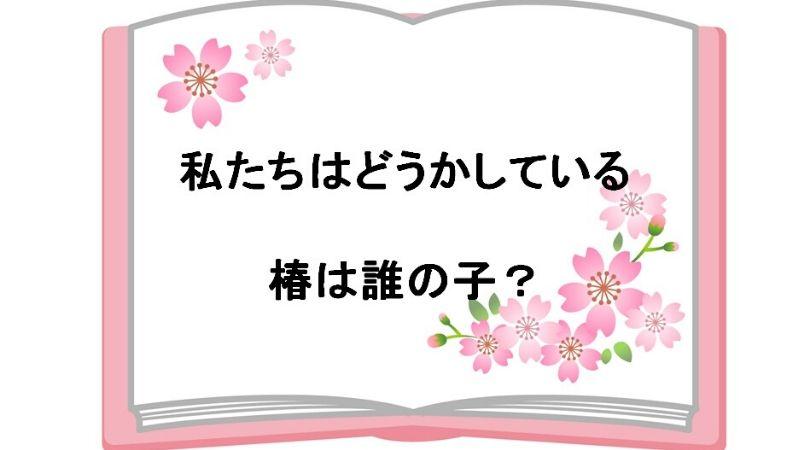 私たちはどうかしているネタバレ!椿は誰の子で七桜とは異母兄弟?